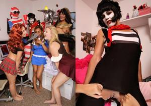 Selma Sins - Costume Party - Dare Dorm