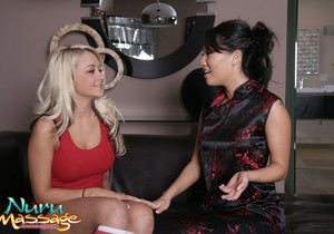 Briana Blair, Asa Akira - Relaxation After Practice