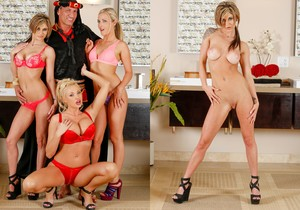 Chloe Chaos, Karla Kush, Summer Brielle - The Sheik Returns