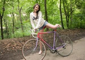 Liona - Riding My Bike - Girlsway
