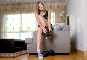 Sonja - The Roller Skater - Girlsway