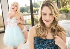 Tara Morgan, Kenna James - Unexpected Prom Date - Girlsway