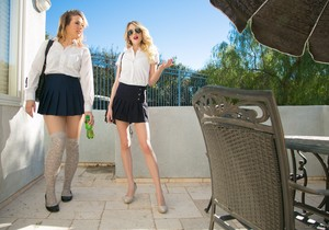 Shauna Skye, Blake Eden - Bad School Girls: Part One