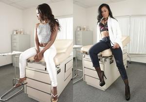 Lesbian Beauties #15 - All Black Beauties