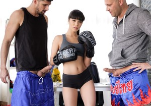 Mona Kim - Boxing With The Best - 21Sextury