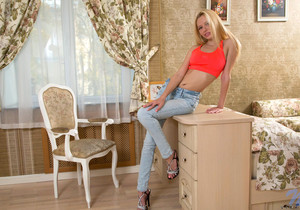 Vicki - tiny teen blonde