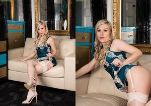 Evey Kristal - sexy stockings mom