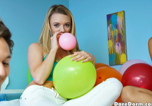 Alice March - Balloon Party - Dare Dorm
