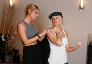 Jessa Rhodes, Val Dodds - The Taxi Girl - Fantasy Massage