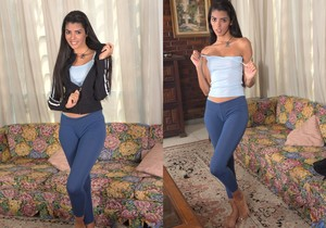 Angela Diaz - latina teen pleasuring herself