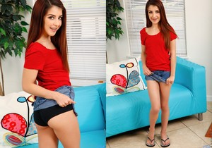 Sally Squirt - young hottie teases