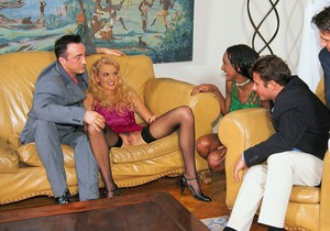 Brenda Logan Visits Private Castings Couch