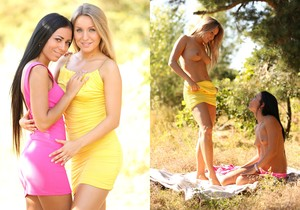 Babes Bailey and Withney Conroy Feast on Each Other