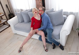 Russian Teen Sofia Gives Her Boyfriend Hard Anal - Private