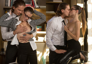 Jessica & Calvin - Work It Sex At The Office - X-Art