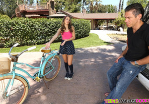 Kimmy Granger - Bikes And Buttplugs - Teens Love Huge Cocks