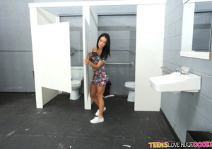 Megan Rain - Roadtrip Gloryhole - Teens Love Huge Cocks
