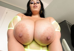 Anastasia Lux - Natural Jugs Bounce Like Volleyballs!