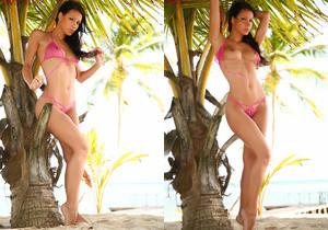 Melisa Mendiny at The Beach - NuErotica
