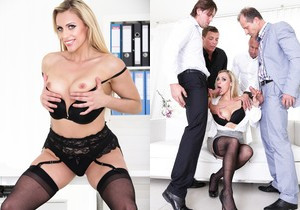 Brittany Bardot - 4 on 1 Gang Bangs #08 - Doghouse Digital