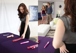 Lizzie Bell, Savannah Fyre - Toy Demonstration