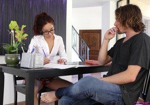 Mila Jade, Nina Elle - Stepmom Seduced My Tutor