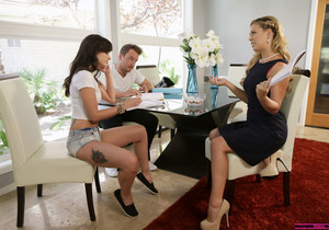 Gia Paige, Cherie Deville - Heat Of The Moment