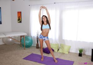 Marina Angel - Petite Fitness Sex - Petite HD Porn