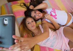 Anastassia Delgado, Angela Diaz - Exotic Beauties