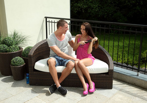 Enzo Bloom, Gina Devine - Pretty Boy - ALS Scan