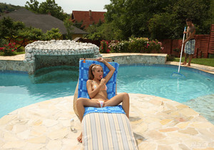 Leyla Black, Zack - Pool Boy - ALS Scan