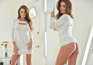 Silvia - Tight White Dress - FTV Milfs