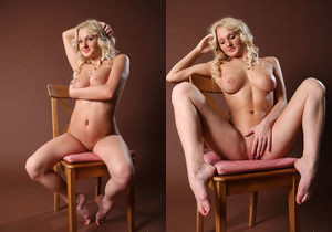 Jessica H - Chair Love - Erotic Beauty