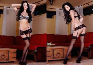 Chloe James - Stocking Seductress - Holly Randall