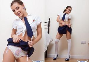 Kyra Mendez - School Girl - SpunkyAngels