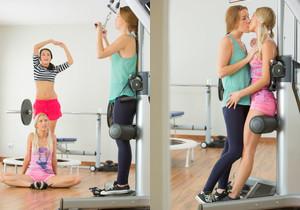 Alexis Crystal, Uma - Workout - Viv Thomas