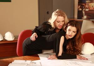 Rebecca More, Suzie Carina - Office Romance - Viv Thomas