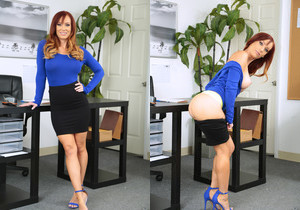 Dani Jensen - My Nerdy Assistant - MILF Hunter