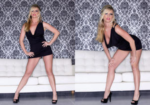 Britney Lace - Little Black Dress - Holly Randall