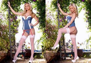Lacey Foxx - Dressy in Denim - Holly Randall