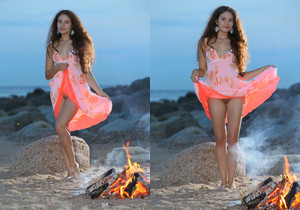 Norma A - Evening Blush - Stunning 18