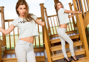 Rae Stairs - Skin Tight Glamour