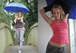 Rose - Rainy Day - Girlfolio