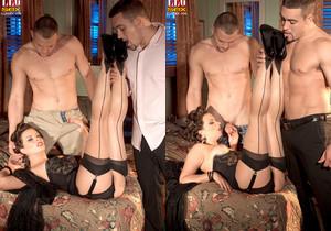 Bailey Brooks - Motel Voyeur - Leg Sex