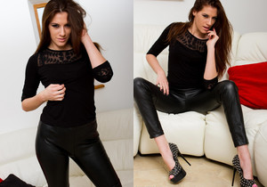Becky Perry - Becky Leather - Skin Tight Glamour