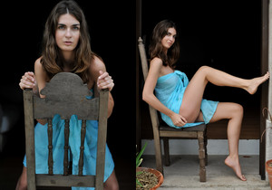 Charlotta - Azure Blue - Girlfolio