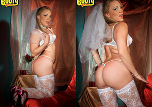 Kirra Lynne - Here Cums The Bride - Bootylicious Mag