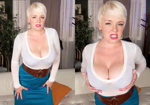 Missy Monroe - Anal Cream For A Blonde Cum Collector