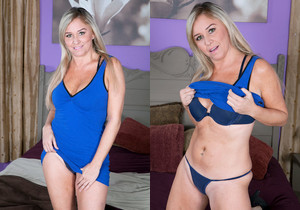 Angela Harley - Devil In A Blue Dress - Naughty Mag