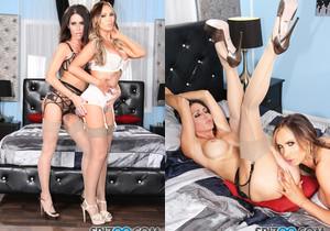 Jess Loves Nikki - Jessica Jaymes Nikki Benz lesbians